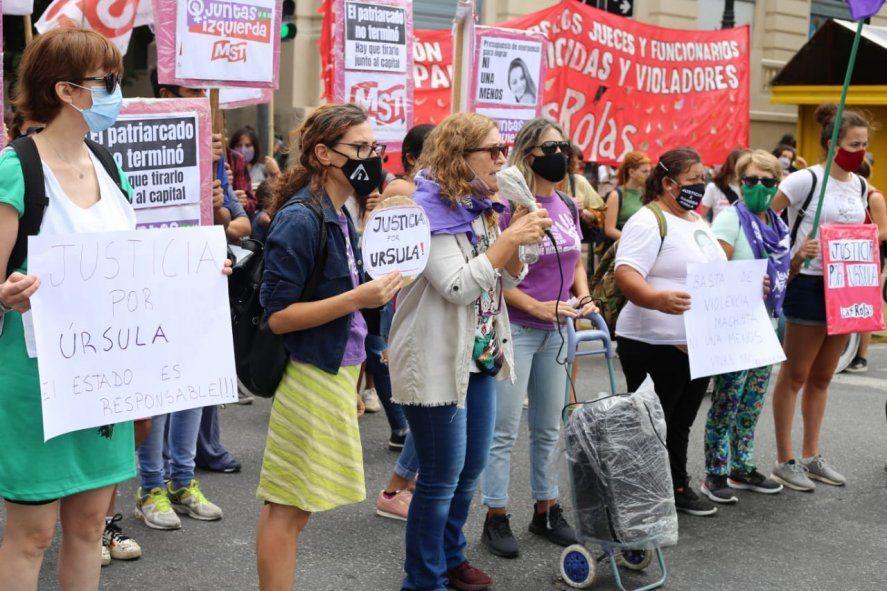 Organizaciones reclaman justicia por Úrsula