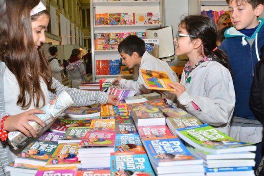 en la previa de las vacaciones de invierno, vuelve la feria del libro infantil y juvenil a la plata