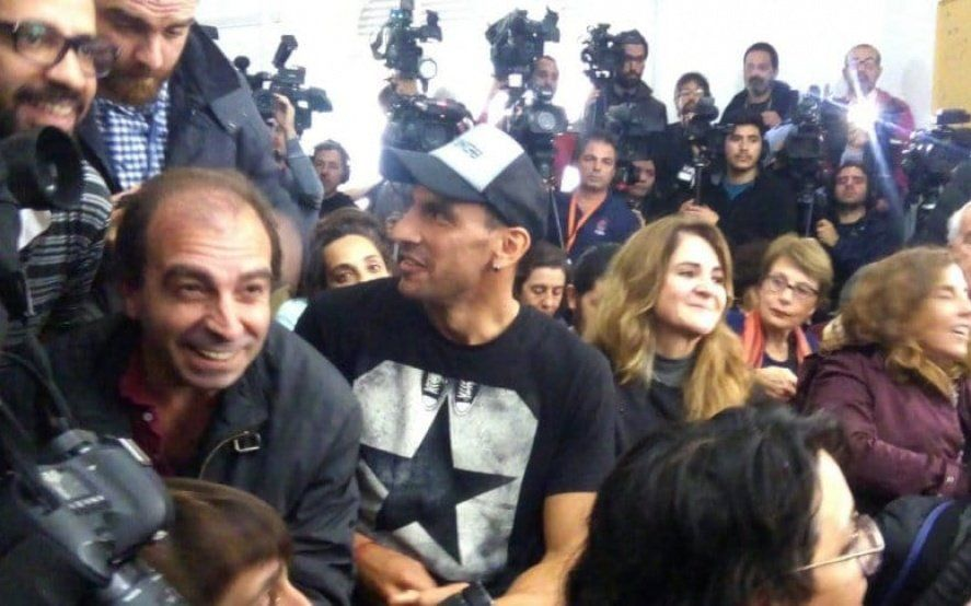 El compromiso de siempre: Nahuel Guzmán estuvo junto a las Abuelas y el nieto 130