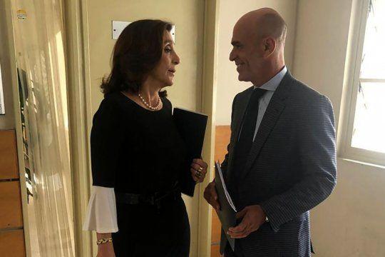 piden citar a declarar a los ex titulares de la afi: silvia majdalani y gustavo arribas