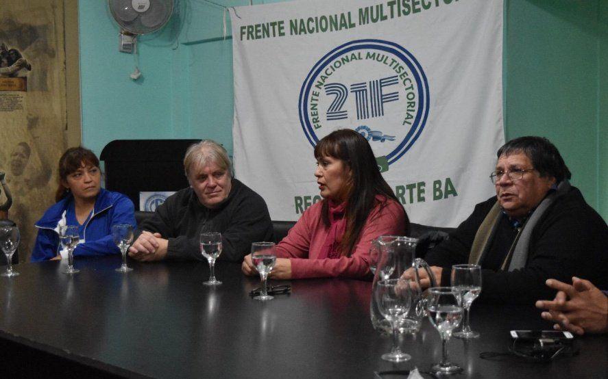 La CGT Zona Norte expresó su apoyo a Fernanda miño en la PASO del Frente De Todos de San Isidro