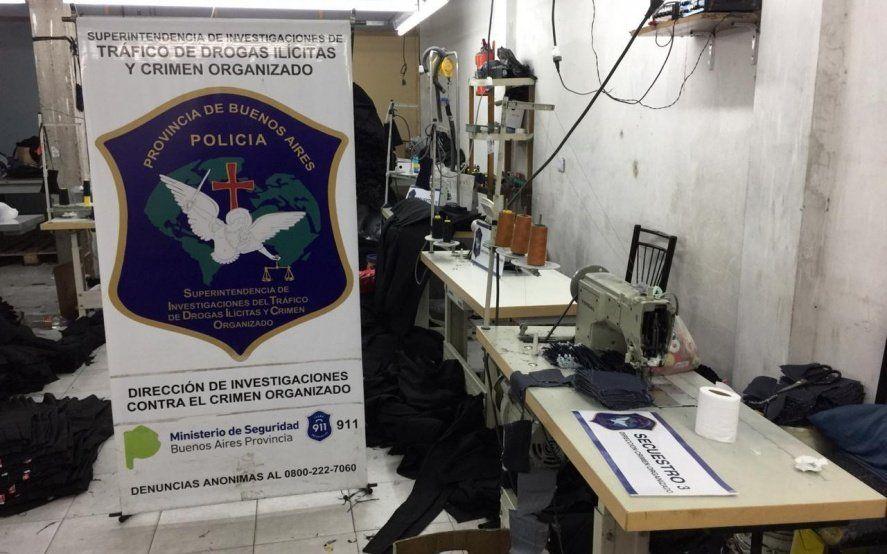 Rescataron a 15 ciudadanos bolivianos de un taller clandestino de costura de La Matanza