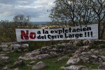 olavarria: concesion minera reactivo un reclamo ambiental