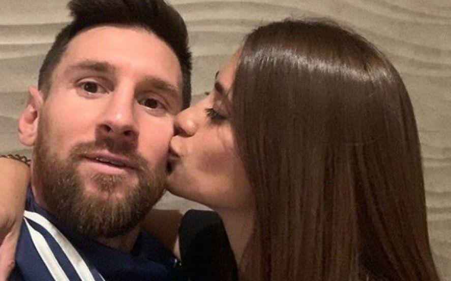 """""""Viejito mala onda"""": el tierno mensaje de Antonela a Lionel Messi por su cumpleaños"""