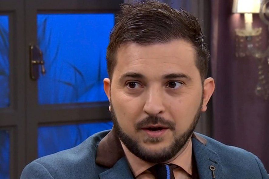 Internaron a Diego Brancatelli con neumonía bilateral