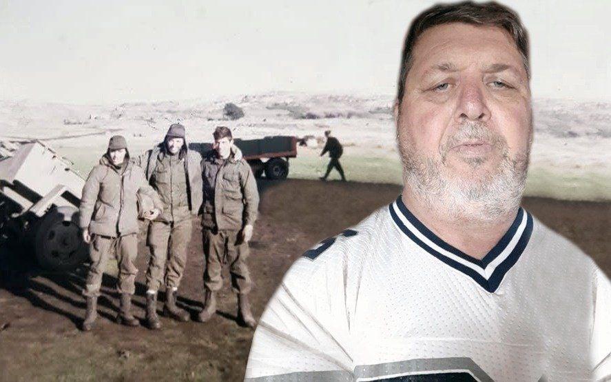 """La pasión en medio de la guerra: """"Yo grité un gol del Lobo adentro de un pozo en Malvinas"""""""