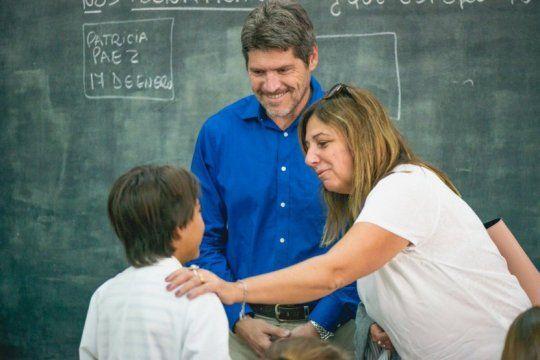 vidal mando a sus ministros y legisladores a visitar escuelas donde si hubo clases