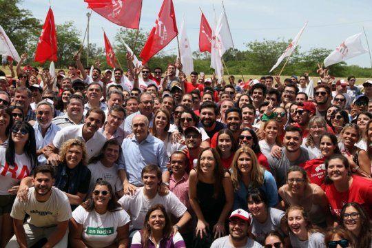 ante jovenes radicales, vidal y garro pidieron sostener la unidad de cambiemos en la provincia