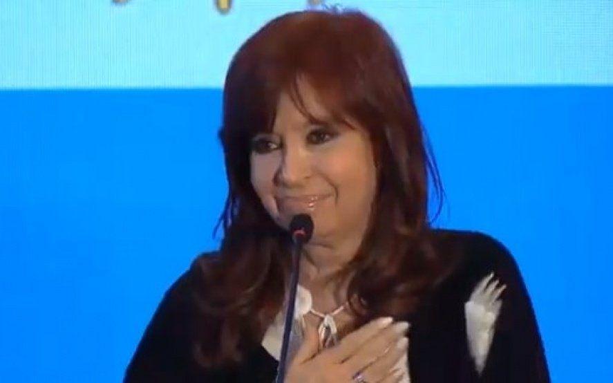 """Cristina acentúa la polarización y dice que a Vidal """"le importa un corno lo que le pasa a la gente"""""""