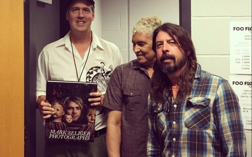 Dave Grohl se reunirá con sus ex compañeros de Nirvana este fin de semana en un evento benéfico