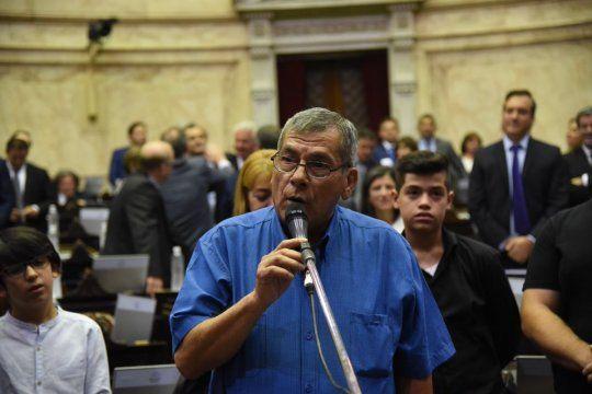Juan Carlos Alderete proviene de la organización piquetera CCC