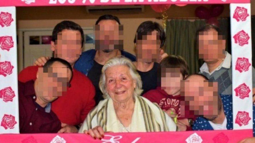 La víctima fatal al momento de cumplir 90 años