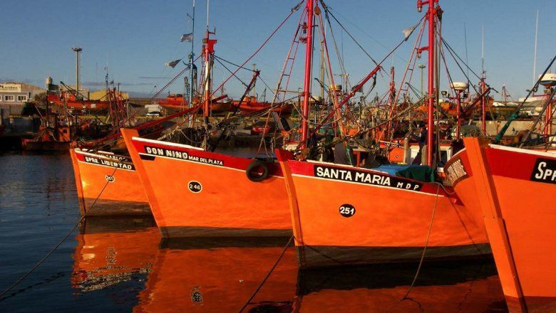 Buque pesquero de Mar del Plata (Foto archivo)