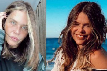 nazarena velez cambio el look: me estaba quedando pelada