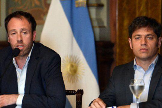 Kicillof y su ministro de Hacienda, Pablo López, cerraron anoche los ejes del presupuesto 2021. Mañana ingresará a la Legislatura.