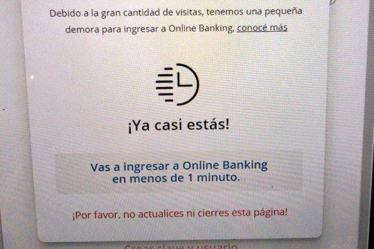 En las redes sociales, las demoras de home banking volvieron a convertir al servicio en tendencia