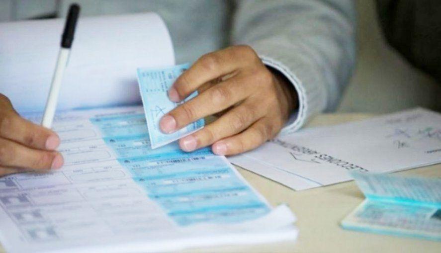 Elecciones primarias en la provincia.