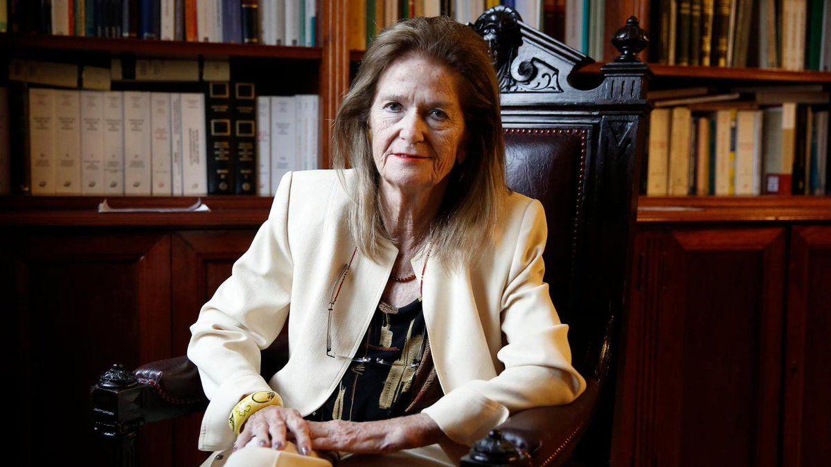 elena highton de nolasco presento la renuncia a la corte suprema