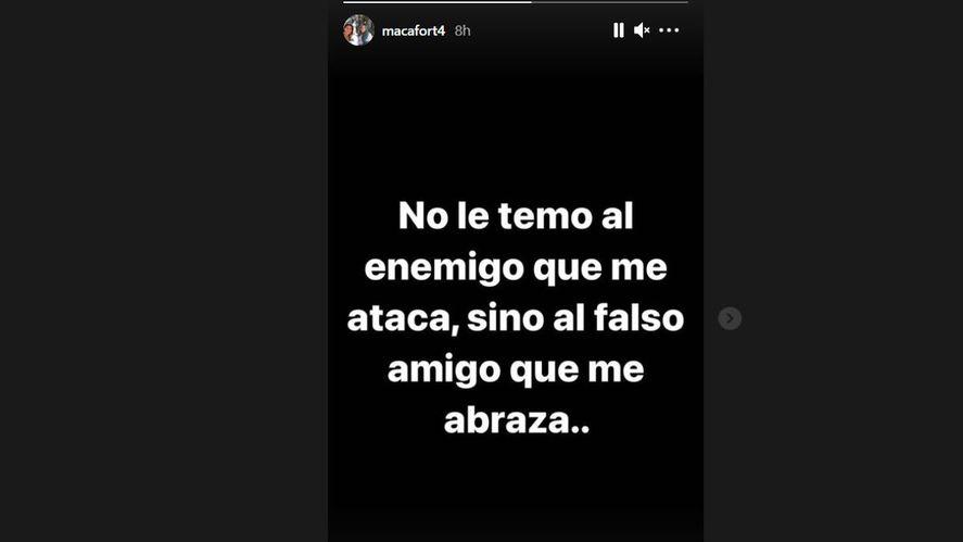 El lapidario mensaje de la hija de Fort contra Rocío Marengo: No es más bienvenida en la familia