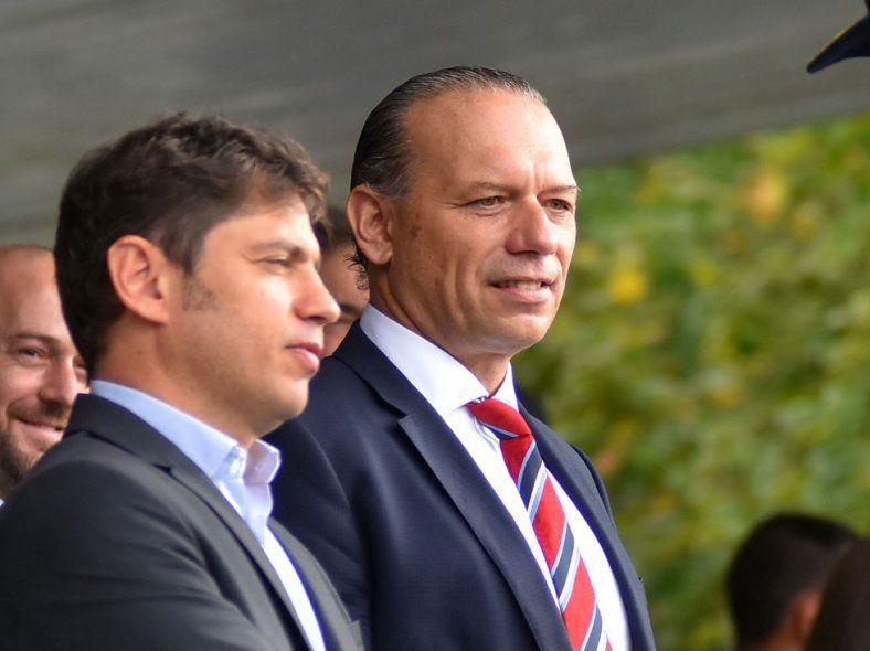 Sergio Berni tiene el respaldo de Axel Kicillof como ministro de Seguridad bonaerense.