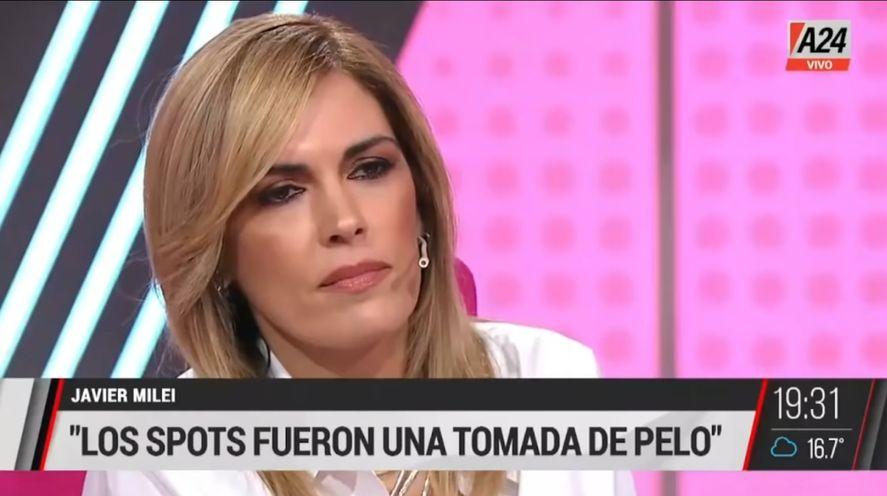 El rostro demacrado de Viviana Canosa y su tos recurrente en la entrevista del martes a Javier Milei, dieron que hablar por la salud y el posible contagio con la variante Delta del Covid que la obligó a faltar ayer y seguramente hoy también