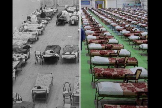 La comparativa entre la letalidad de la Gripe Española y el Coronavirus en la Argentina y en el mundo