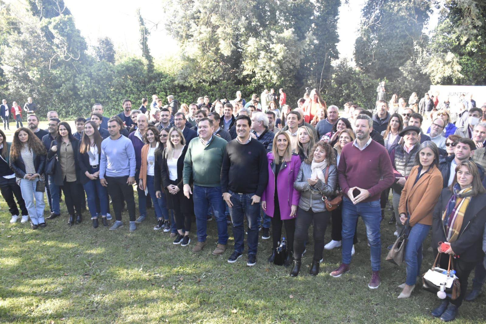 Reunión de Juntos en Mar del Plata para retener el voto radical