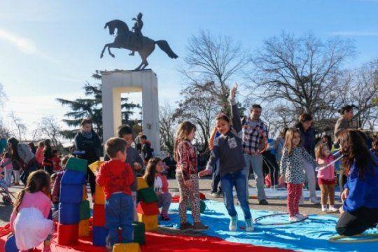 Fiestas populares en vacaciones de invierno en la provincia