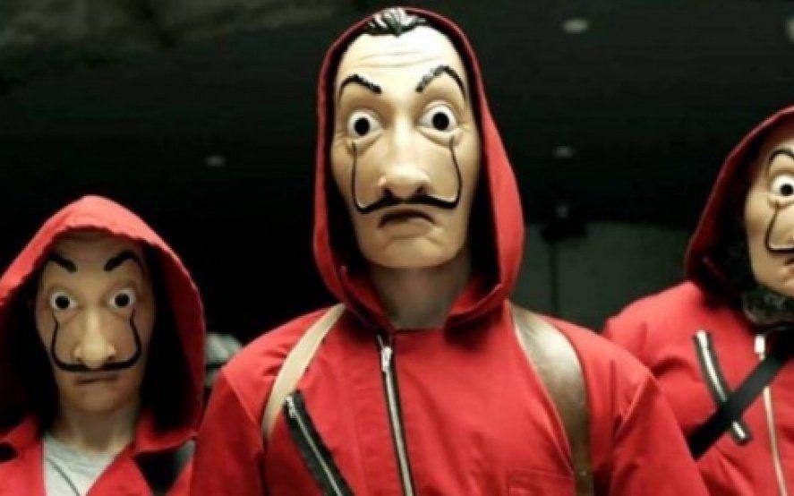 """Quieren iniciar acciones legales contra """"La Casa de Papel"""" por usar la imagen de Dalí"""
