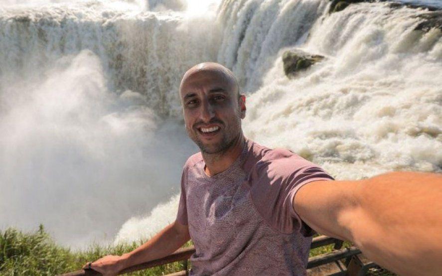 Mirá el video de Manu Ginobili en las Cataratas del Iguazú para promocionar la Argentina