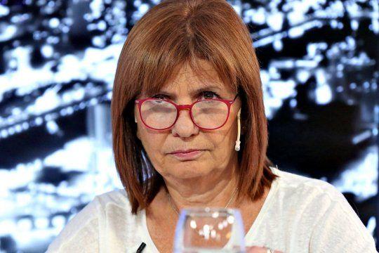 patricia bullrich: hice una autocritica profunda sobre la violencia como accion politica