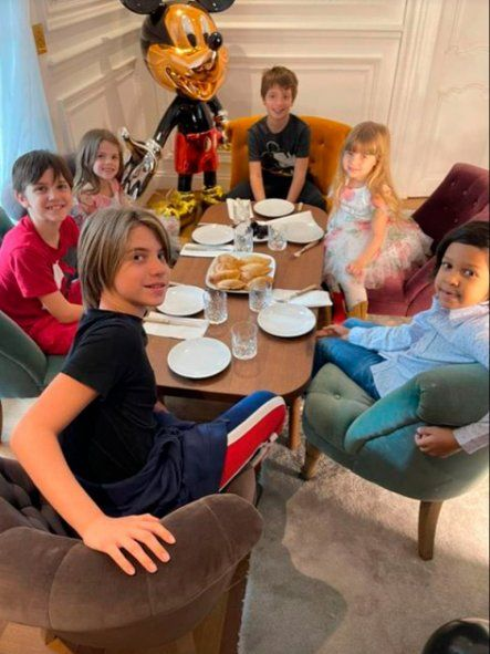 Wanda Nara organizó un festejo de cumpleaños temático de primer nivel para su hijo Benedicto