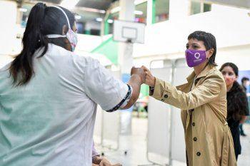 Quilmes tiene 100 mil personas vacunadas