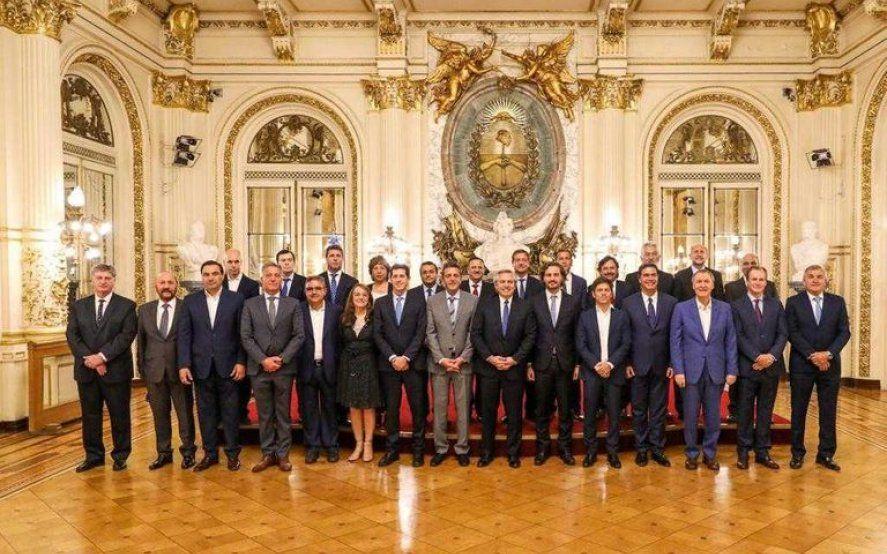 A cinco días de la definición: Fuerte respaldo de gobernadores a la oferta de Alberto Fernández para reestructurar la deuda