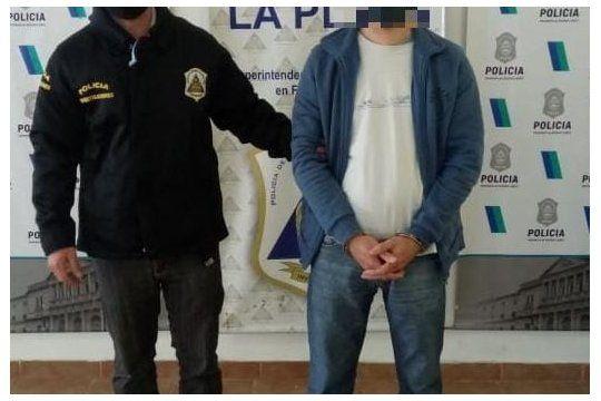 El hombre de 52 años fue detenido en Berisso por personal de la DDI La Plata