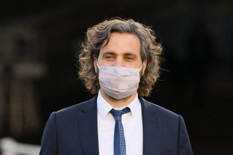 Cafiero lanzó críticas a la oposición