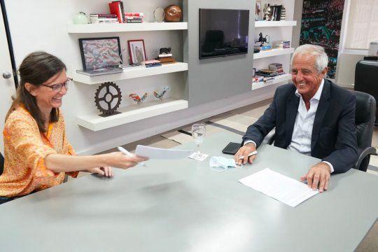 ANSES firmó un convenio con River