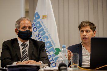 Kicillof participó del Congreso de la Asociación Bancaria junto al secretario general, Sergio Palazzo.
