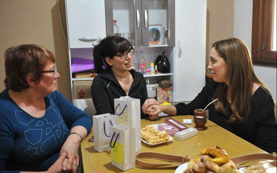 Vidal afina su gestión de cara a la campaña: visitó a una emprendedora en Berisso