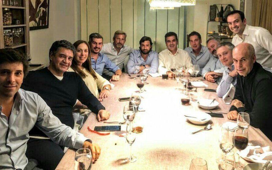 Vidal, Peña y Larreta: Foto, gesto de unidad y definiciones sobre estrategia electoral