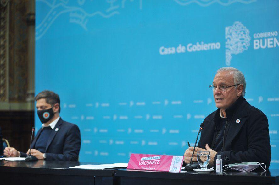 """""""A partir de mañana miércoles hay vacunación libre para los mayores de 25 años"""", anunció el gobernador Axel Kicillof."""