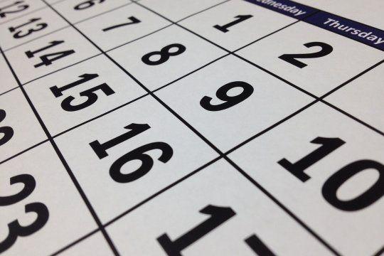 El próximo fin de semana largo tendrá lugar en 13 días, de acuerdo al calendario nacional