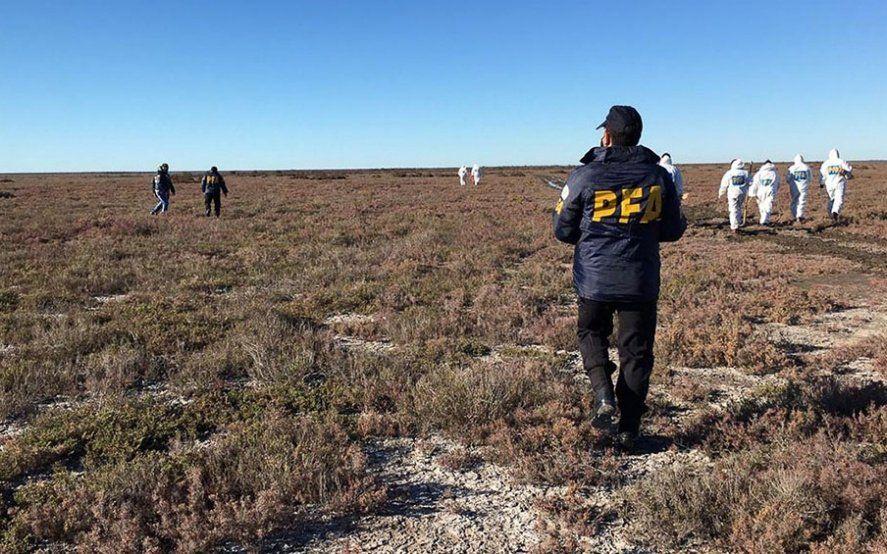 Encuentran ropa y más restos óseos donde el sábado pasado se halló un cuerpo