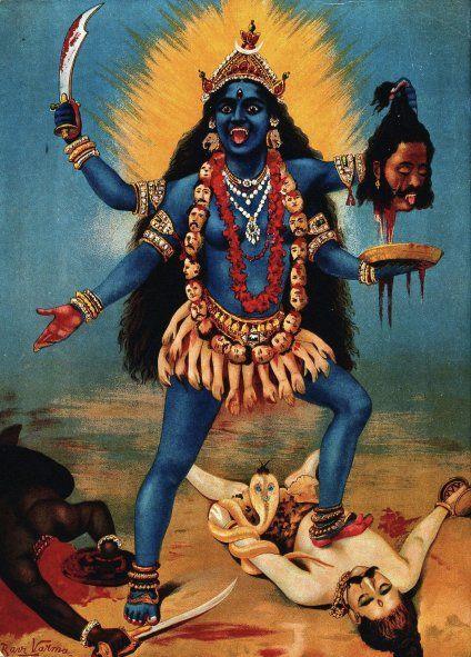 Para el logo de los Rolling Stones, Mick Jagger le mostró al diseñador un corte de periódico que mostraba a la diosa hindú Kali, con una lengua puntiaguda, colgando.