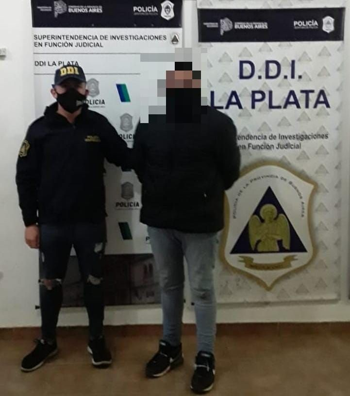 Chañas, el joven de 28 años detenido en las últimas horas