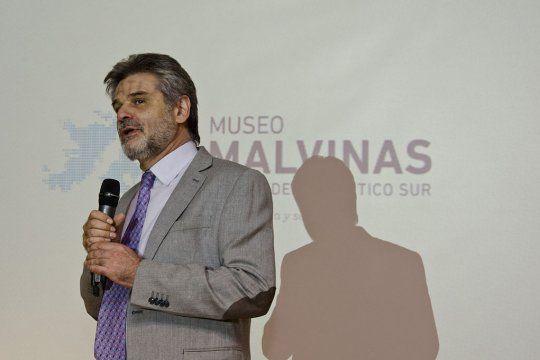 Daniel Filmus ejerce el cargo de Subsecretario de Malvinas, Antártida y Atlántico Sur en la Cancillería.