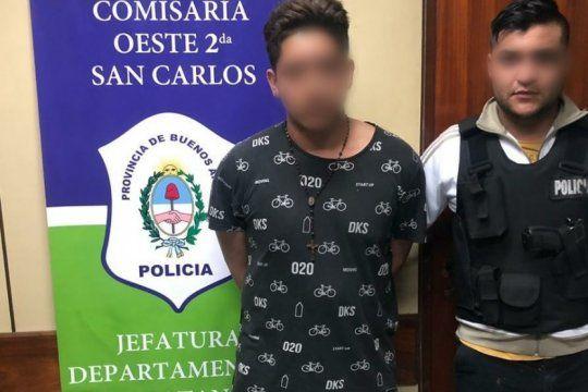 un joven de 19 anos mato a palazos a su ex novia de 16 y lo atraparon cuando queria escapar