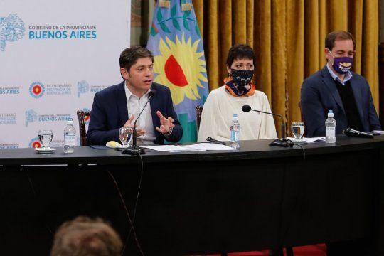 Axel Kicillof extiende la emergencia sanitaria por el coronavirus