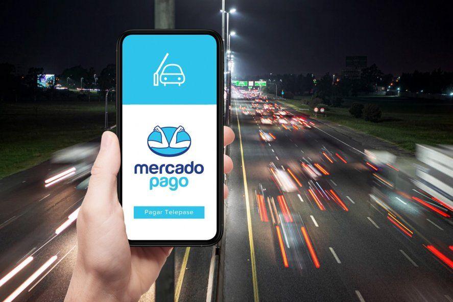 Se podrá adherir TelePASE a la cuenta digital de Mercado Pago (MP).