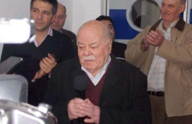 A los 92 años, murió el ex intendente de Rauch, Jorge Mario Ramón Ugarte ( Foto La Nueva Verdad de Rauch)